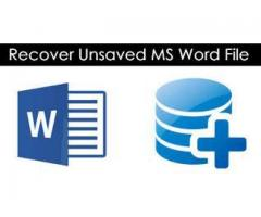 How do I recover Word Document
