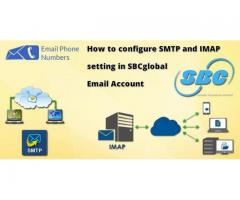 How To configure SMTP and IMAP setting in SBCglobal Email Account