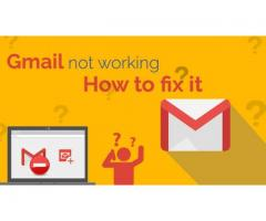 Gmail not working-how to fix it.
