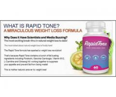 Rapid Tone : Improve metabolism of the person's body.