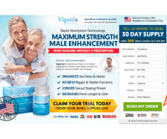 Vigenix Male Enhancement Reviews