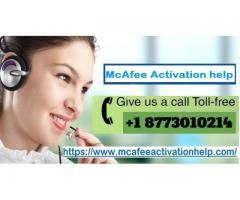 McAfee Activation Help Number +1 877 301 0214