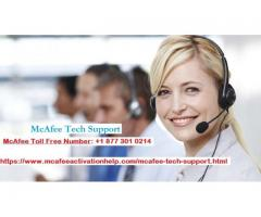 McAfee Tech Support With McAFee Support Number
