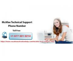 Mcafee Tech Support experts available on Mcafee Antivirus Support Number +1 877 301 0214