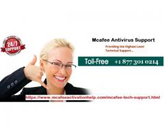 Resolve all troubleshooting issues on call at Mcafee Antivirus Support Number +1 877 301 0214