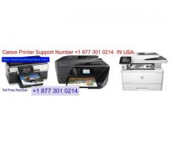 Canon Printer Support +1 877 301 0214  Number  IN USA