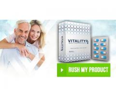 Vitality RX Male Enhancement Pills Boost Size, Sexual Power, Stamina & Endurance