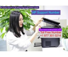 Get fastest solutions of HP printer errors on HP Support Number