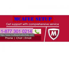 Get Step by step guide TO Activate McAfee Setup on +18773010214