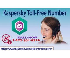 Kaspersky Toll-Free Number +1 877 301 0214 for Tech Support
