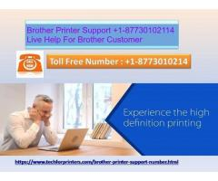 Brother Printer Support +1-87730102114 Live Help For Brother Customer