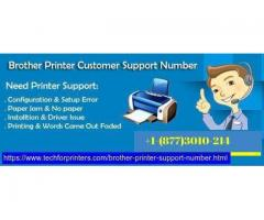 Best Customer Support Number +1-(877)3010-214 For Brother Printer