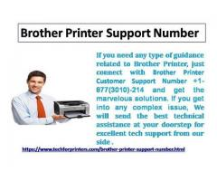 How Brother Printer Support Number Give You Safety For Your Printer? Dial +1877(3010)214