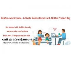Mcafee.com/Activate| McAfee Activate