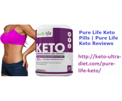 Pure Life Keto Pills | Pure Life Keto Reviews
