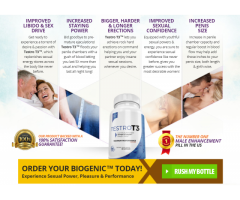 Testro T3 - Natural Way To Improve Your Libido