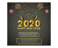 New Year Party Near Delhi | Find the best Packages for New Year 2020