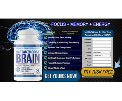 Instant Boost Brain: Sharpen The Mind And Cognitive