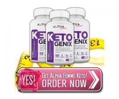 Is Alpha Femme Keto Genix Safe or Fake Pills?