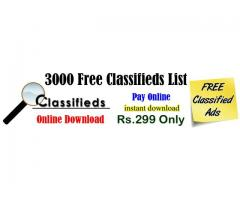 List of Free Classified Sites