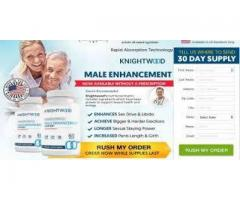 Who is the Manufacturer of the Knightwood Male Enhancement Support?