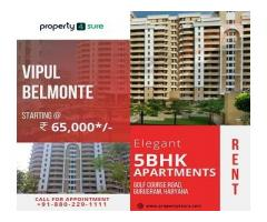 Vipul Belmonte for Sale on Golf Course Road Gurugram | 5 BHK Apartments in Gurugram