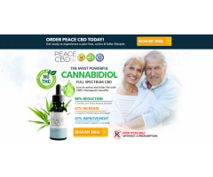 Peace CBD : For Pain Relief Read Review, Side Effect & Benefits