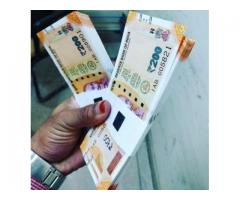 Quality 500's and 2000's Indian Rupees Money For Sale