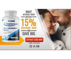 Testoryze Male Enhancement | Does It Really Works Or Scam?