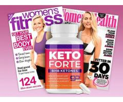 Keto Forte Reviews - How Pills Work OR Scam?
