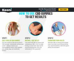 """Where To Buy"""" Keoni CBD Gummies Reviews : 100% Secure, Safe Reviews, Trial, Price and Benefits!"""