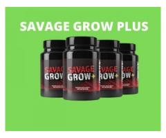 Savage Grow Plus - Increases your Sexual Performance Naturally.
