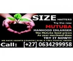 Mutuba seed | solve penis enlargement problems +27634299958