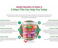 Smilz Delta 8 Gummies Cherry Cubes Review – Get Instant Relief!