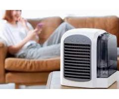 The portable AC is calm and quiet