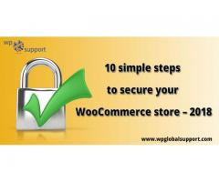 Different steps to secure your WooCommerce store 2018
