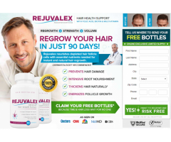 Get Strong Hairs with Rejuvalex